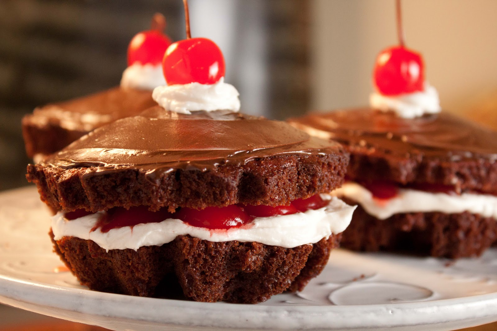 German Chocolate Cake With Cherry Pie Filling